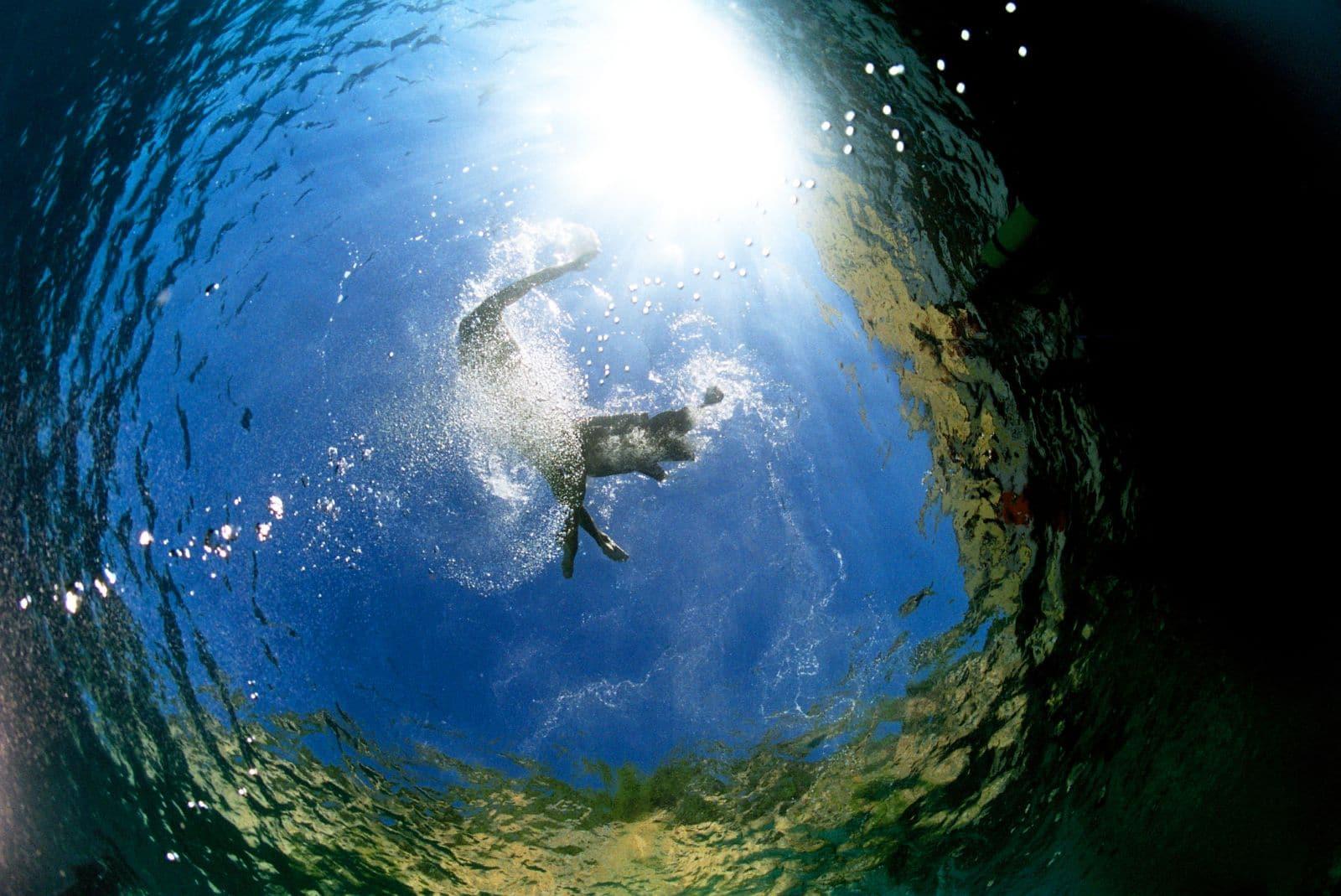 Discover scuba diving test