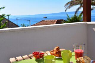 Sea Pearl - Studio Apartment Olive breakfast sea view