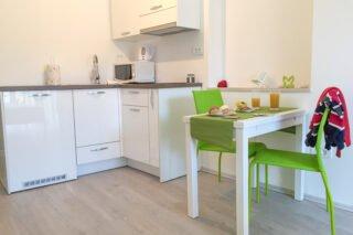 Sea Pearl - Studio Apartment Olive kitchen