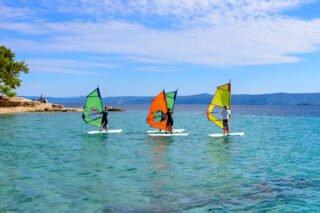 Windsurfing beginners course