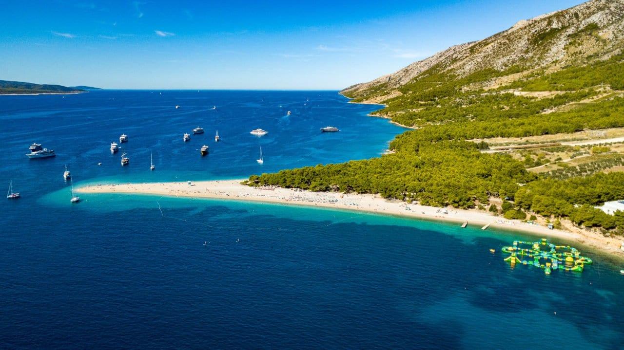 Bol island Brac Croatia - travel and holiday guide; apartments, villas